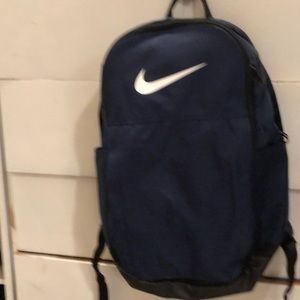 Nike backpack navy blue like new